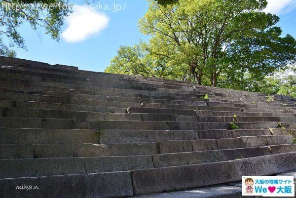 玉造口階段