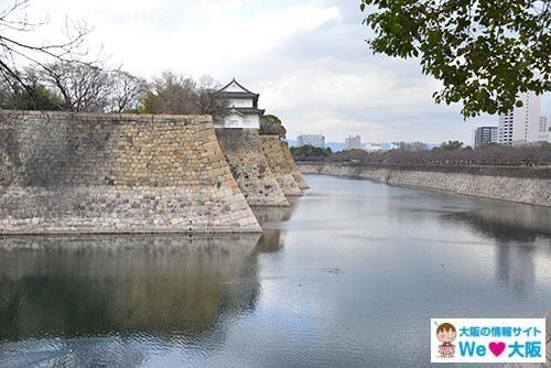 大阪城 西外堀