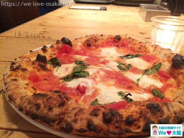 クオーレルディーノ ピザ