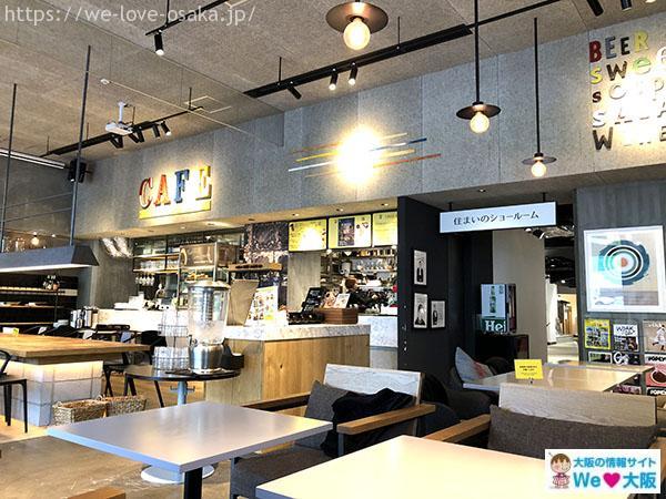 ベーカリー&バル フレンチ バゲット カフェ 店内