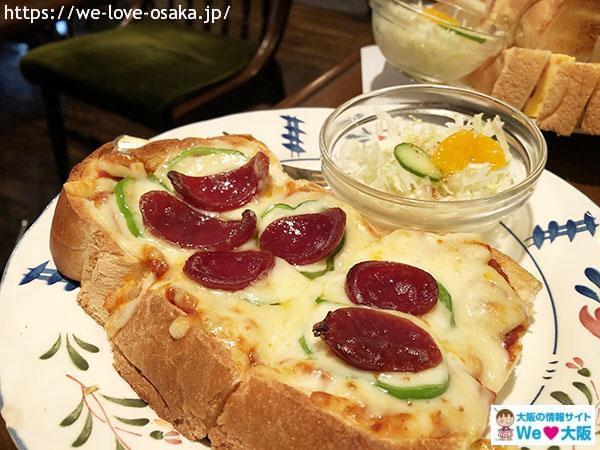珈琲の森 ピザトースト