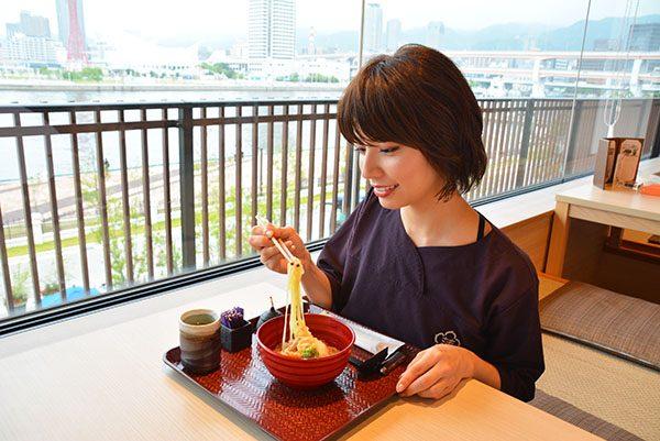 神戸みなと温泉蓮 ヘルシー麺