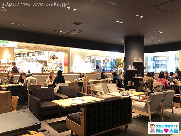 24.7 cafe apartment店内