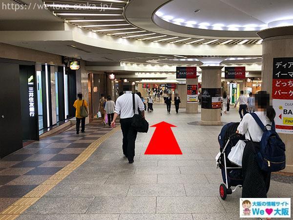 大阪駅中央口南口⑤