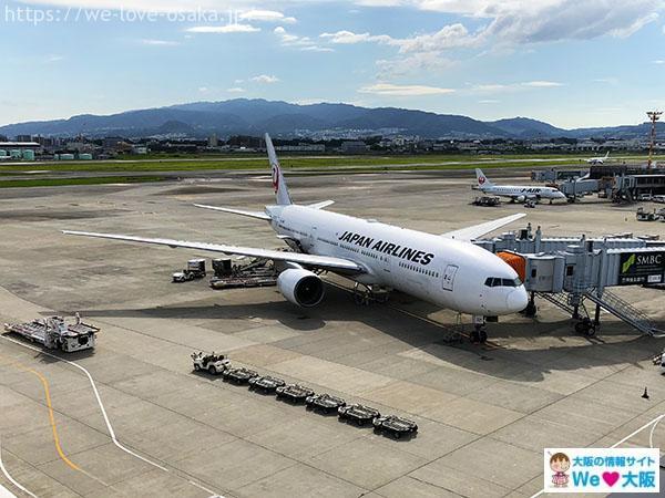 伊丹空港JAL機体