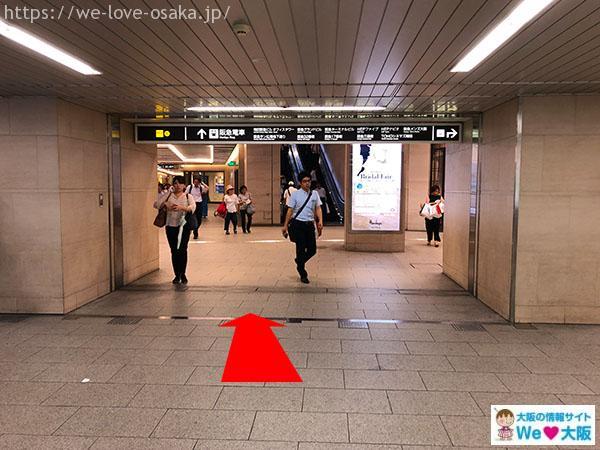 阪急百貨店 北側通路 地下1階