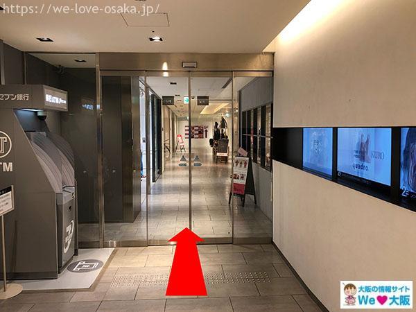 イーマ入口 地下2階③
