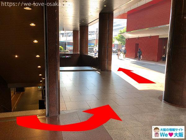 阪急メンズ大阪1階
