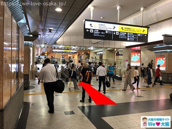 大阪駅中央口南口②