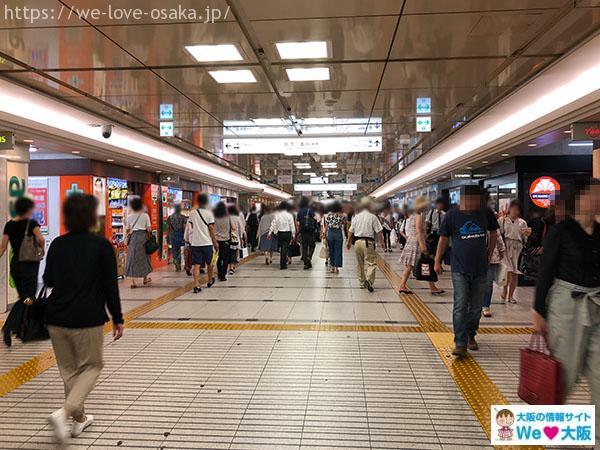 阪急梅田駅・阪急三番街へ②