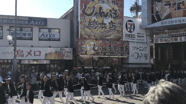 岸和田だんじり祭り①