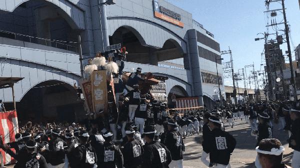 岸和田だんじり祭り⑨