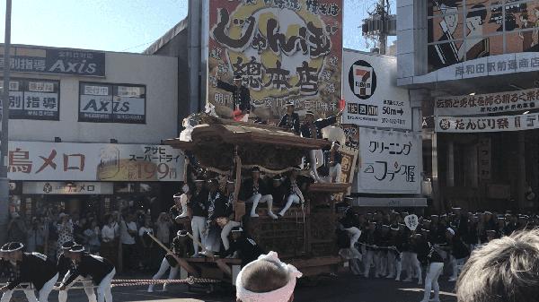 岸和田だんじり祭り③
