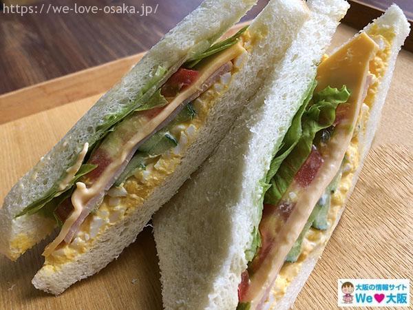 野江内代 サンドイッチのタカヒナ 商品③