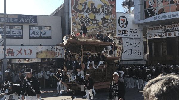 岸和田だんじり祭り②