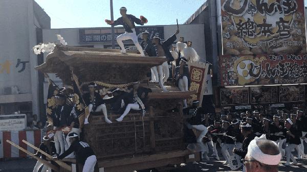 岸和田だんじり祭り⑤