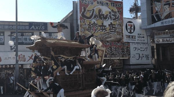 岸和田だんじり祭り④
