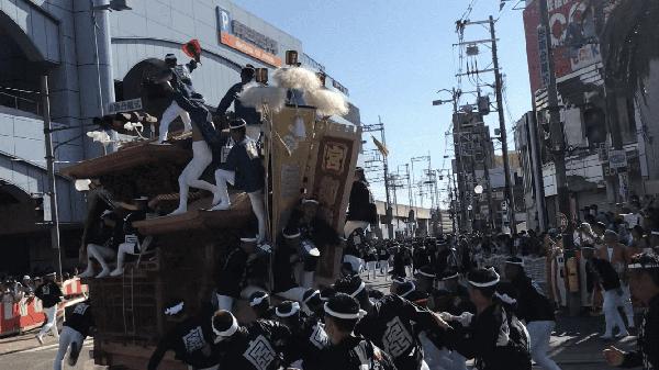 岸和田だんじり祭り⑧