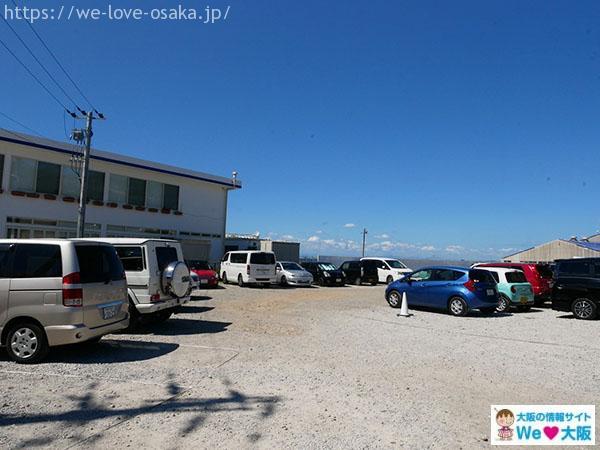 クラフトサーカス駐車場