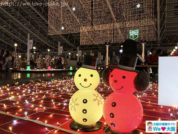 大阪ステーションシティ 雪だるま