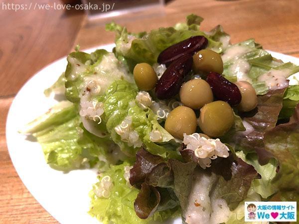 potto キヌアとオマメの小さなサラダ
