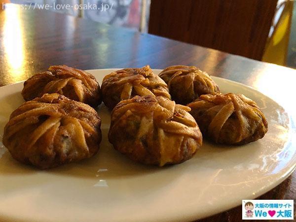 上海食亭 にら饅頭