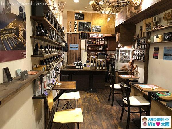 SANWA COFFEE WORKS 店内