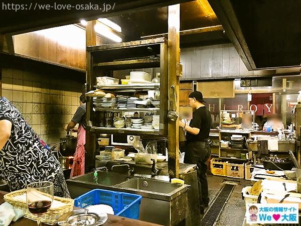 大阪はしご酒 裏ヒロヤキッチン