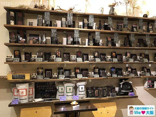 SANWA COFFEE WORKS 店内②