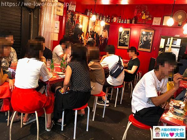 上海食亭 店内