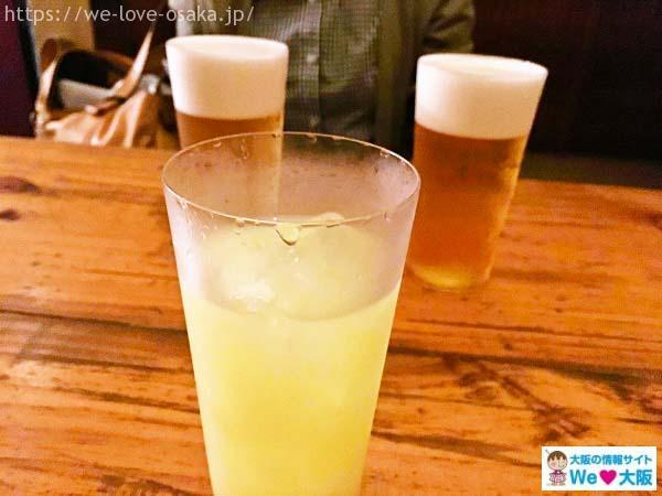 大阪はしご酒 裏天満バール ピンチョス ドリンク