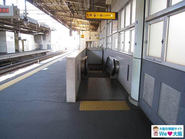 大門酒造 京阪河内森駅②