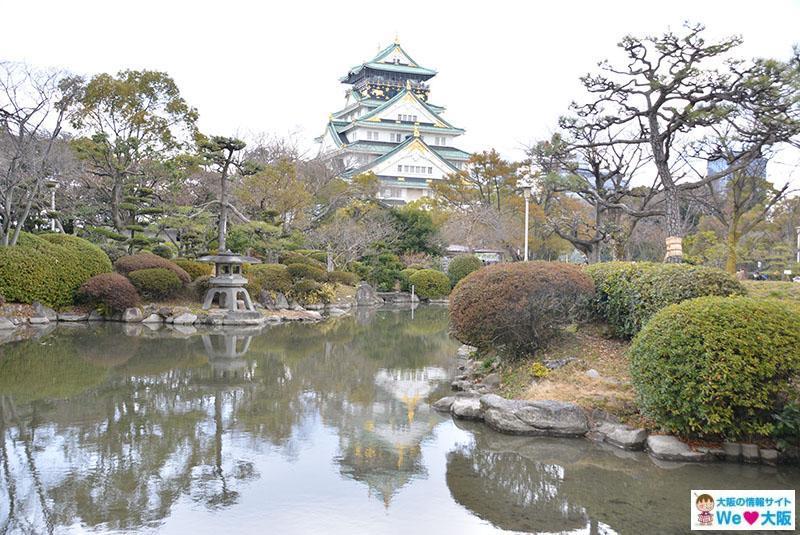 大阪城 水鏡