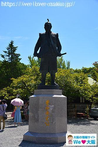 豊国神社 秀吉像