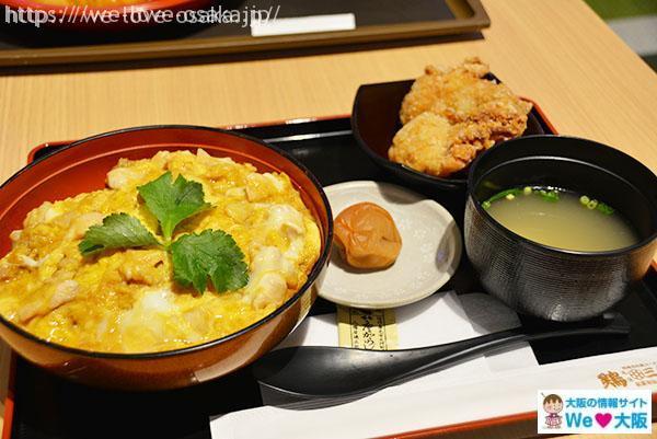 フードコート 親子丼定食