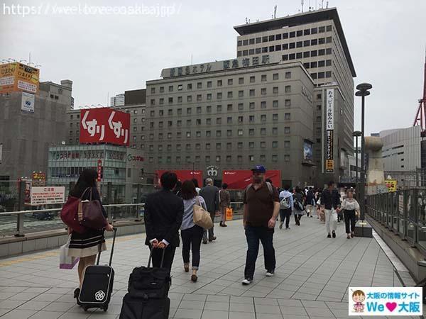 大阪駅から梅田へ④