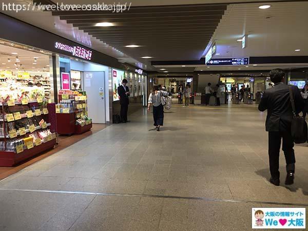大阪駅から梅田へ⑨