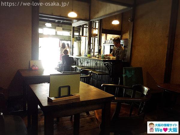 うてな喫茶店店内