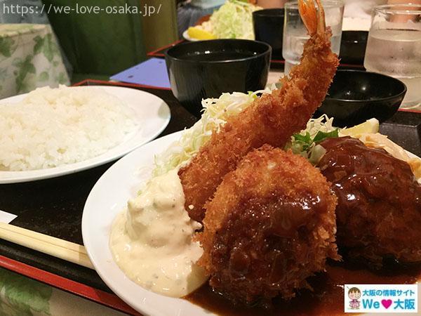 大阪 駅 周辺 ご飯
