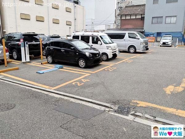 天王寺駐車場