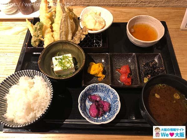天ぷら市ランチ