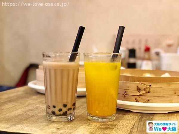 台湾タンパオ天五店タピオカ
