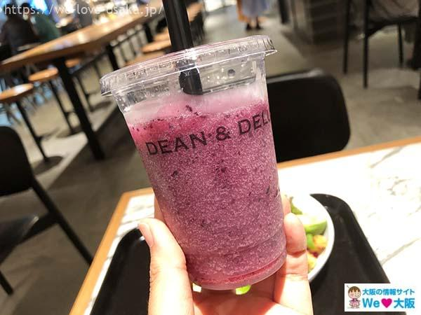 DEAN&DELUCA新大阪フレッシュジュース
