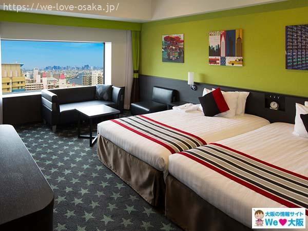 ザパークフロントホテルアットユニバーサルスタジオジャパン部屋