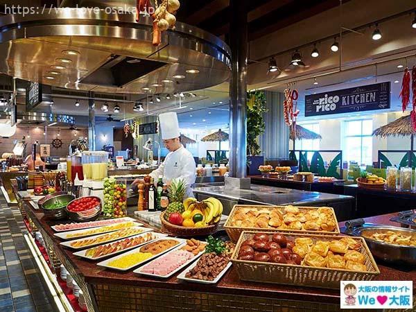 ホテル ユニバーサル ポートレストラン