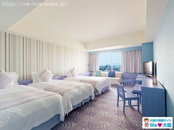 ホテル ユニバーサル ポート客室