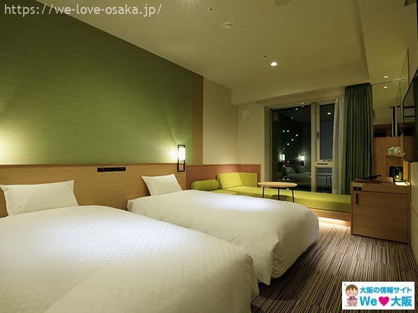 ザシンギュラリホテル&スカイスパアットユニバーサルスタジオジャパン部屋
