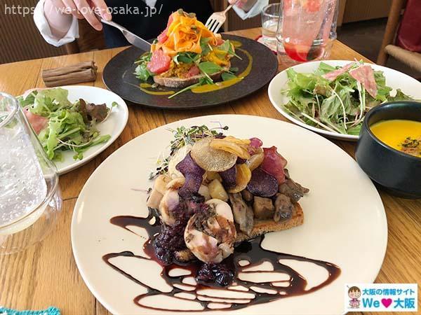 スモーブローキッチンナカノシマ料理1