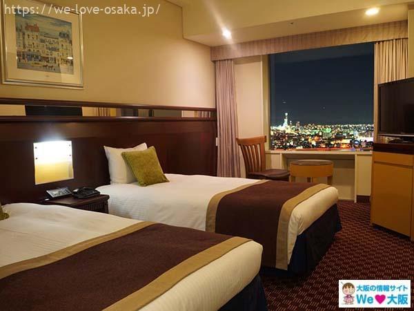 ホテル京阪ユニバーサルタワー部屋