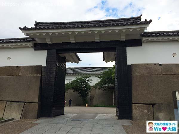 大阪城行き方